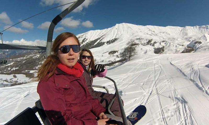 Domaine skiable Albiez Montrond