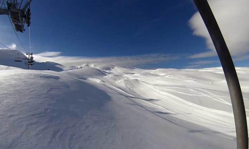 Le domaine skiable de la Joue du Loup