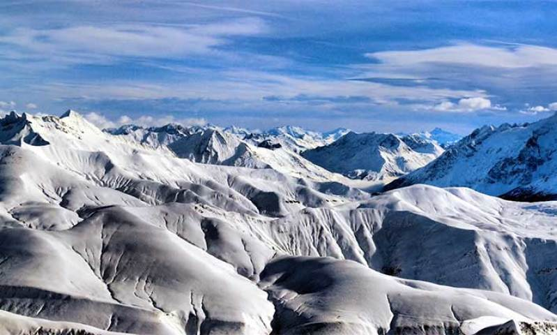 Les 3 Vallées côté Ménuires, un domaine sportif