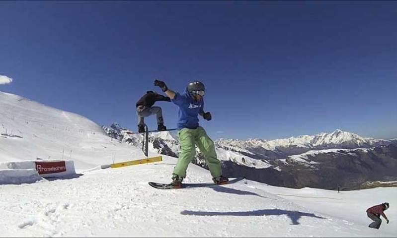 Domaine skiable de Peyragudes dans la Vallée Blanche