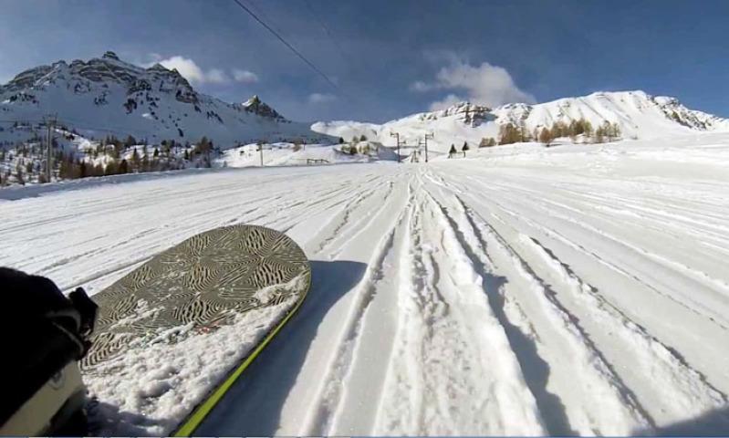 Domaine skiable de Vars - la Forêt Blanche