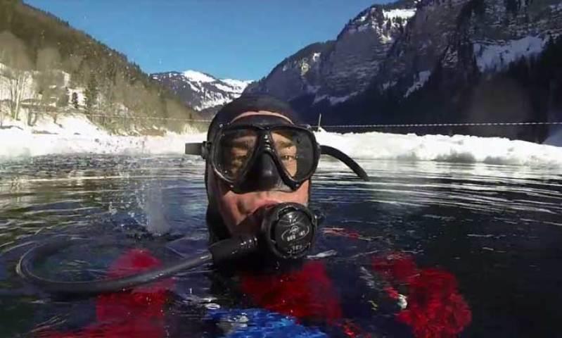 Que faire à Avoriaz ? De la plongée sous glace