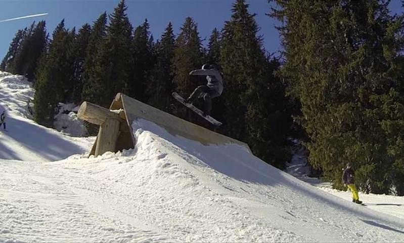 Que faire à d'Avoriaz ? Surfer dans le snowpark écolo le Stash