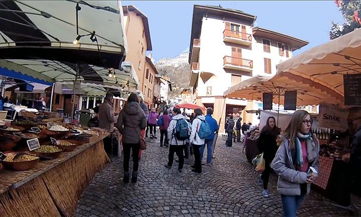 Bourg-Saint-Maurice en vidéo