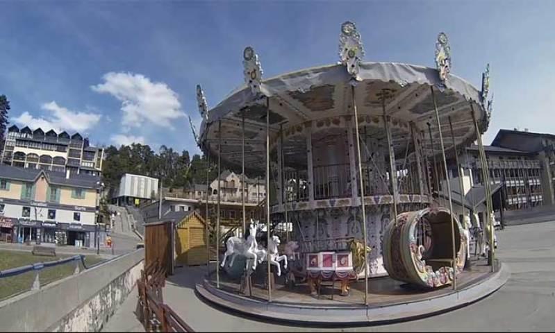 Font-Romeu - Pyrénées 2000 en vidéo