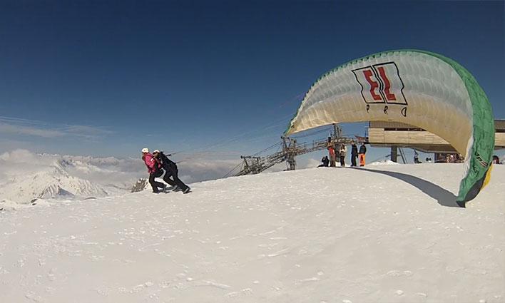 Domaine skiable de Paradiski, coté La Plagne