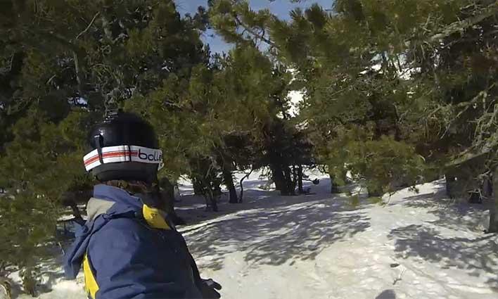 Les Angles et son domaine skiable