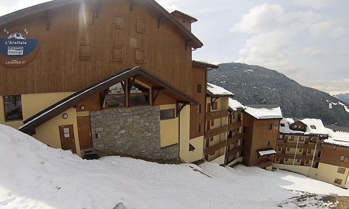 Location - Peisey Vallandry - Rhône-Alpes - Résidence Lagrange Prestige l'Arollaie