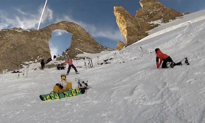 Le domaine skiable de Tignes - L'espace Killy en vidéo